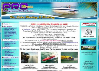 Pro Boats Hi-Performance Marine Center