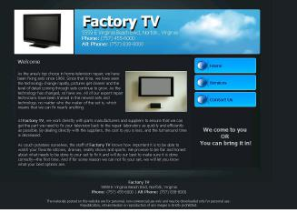 Factory+TV Website