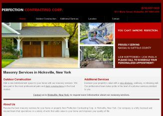 Perfection+Contracting+Corporation Website
