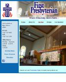 First+Presbyterian+Church Website