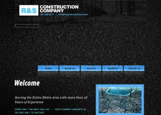 R+%26+S+Construction Website