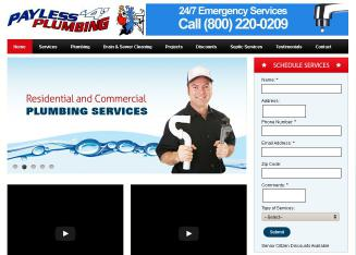 Payless+4+Plumbing+Inc Website