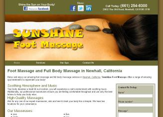 Sunshine+Foot+Massage Website
