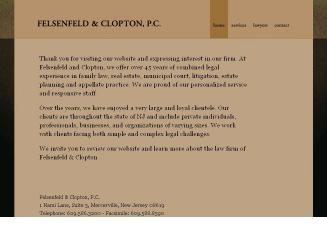 Felsenfeld+%26+Clopton+PC Website