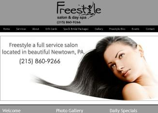Freestyle+Salon Website