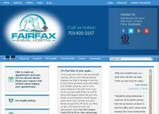 Fairfax+Animal+Hospital Website