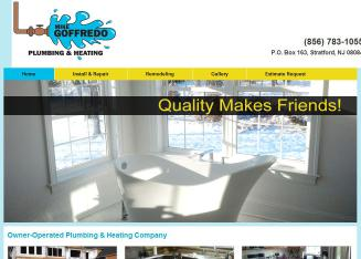 Goffredo+Mike+Plumbing+%26+Heating Website