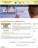 A+%26+J+Games Website