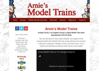 Arnie%27s+Trains Website