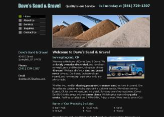 Dave's Sand & Gravel