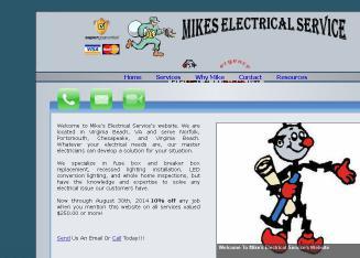 Mike%27s+Electrical+Service Website