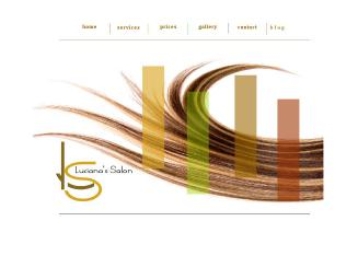 Luciana%27s+Salon Website