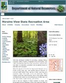 Moraine+View+State+Park Website