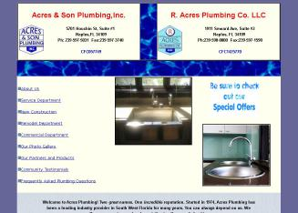 Acres & Son Plumbing Inc