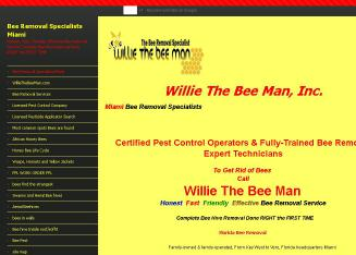 Willie+The+Beeman Website