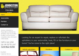 Johnston+Upholstering Website