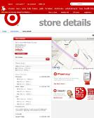 Target Stores - Store Information