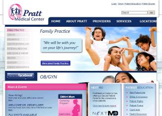 Pratt+Medical+Center Website