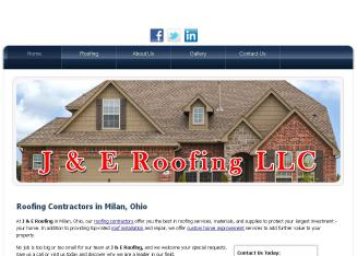 J+%26+E+Roofing+LLC Website