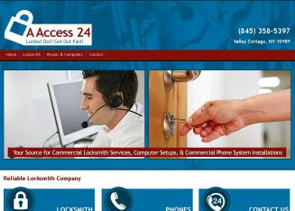 A+Access+24 Website