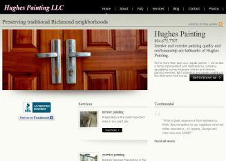 Hughes+Painting+LLC. Website