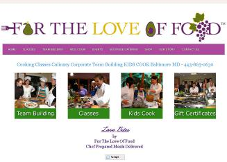 For the Love of Food & Kids Cook Baltimore, Maryland