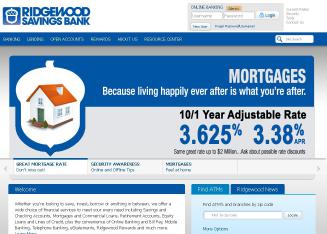 Ridgewood+Savings+Bank Website