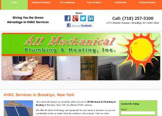 All+Mechanical+Plumbing+%26+Heating+Inc Website