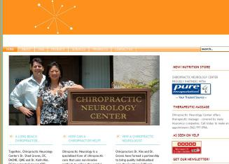 Chiropractic+Neurology+Center Website