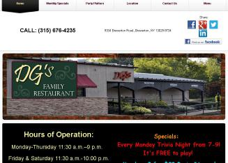 DG%27S+Family+Restaurant Website