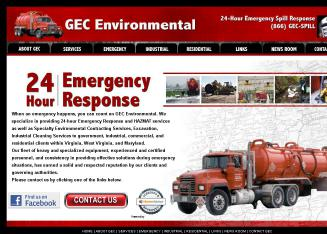 GEC+Environmental Website