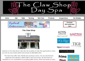 The+Claw+Shop Website