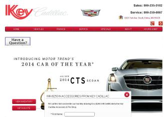 Key+Cadillac Website