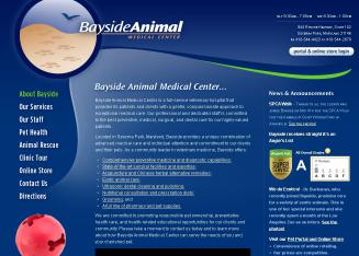 Bayside+Animal+Medical+Center Website