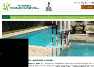 Green Thumb Stone & Landscaping Design Inc.