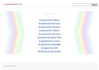 Accupuncture+USA Website