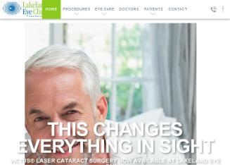 Lakeland+Eye+Clinic Website