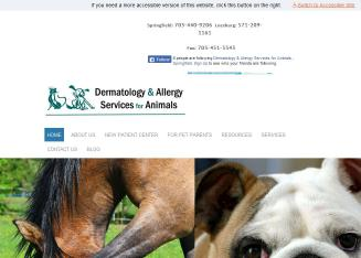 Dermatology and Allergy Service for Animals