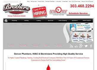 Brothers Plumbing, Heating & Electric Inc