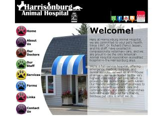 Harrisonburg+Animal+Hospital Website