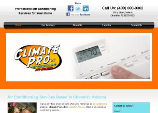 Climate+Professional+LLC Website
