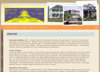 Sunscape+Builders Website