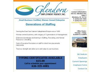Glendora Employment Agency Inc