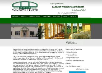 Reedley+Lumber+%26+Building+Center Website