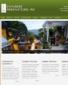Patuxent+Renovations+Inc. Website