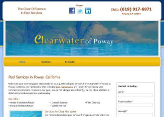 Clearwater+Of+Poway Website
