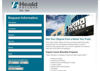 Heald+College Website