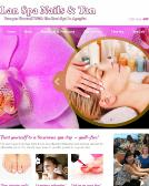 LAN+Spa+Nails+%26+Tan Website