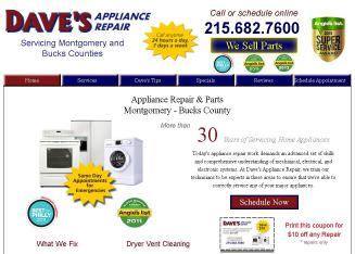 Dave's Appliance Repair Inc