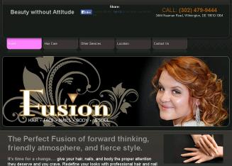Fusion+Salon Website
